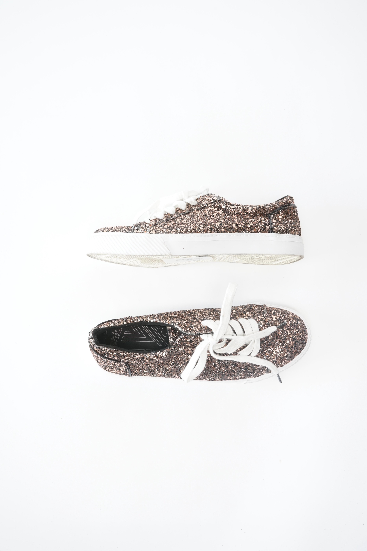 Bershka Sneakers Braun Gr.37