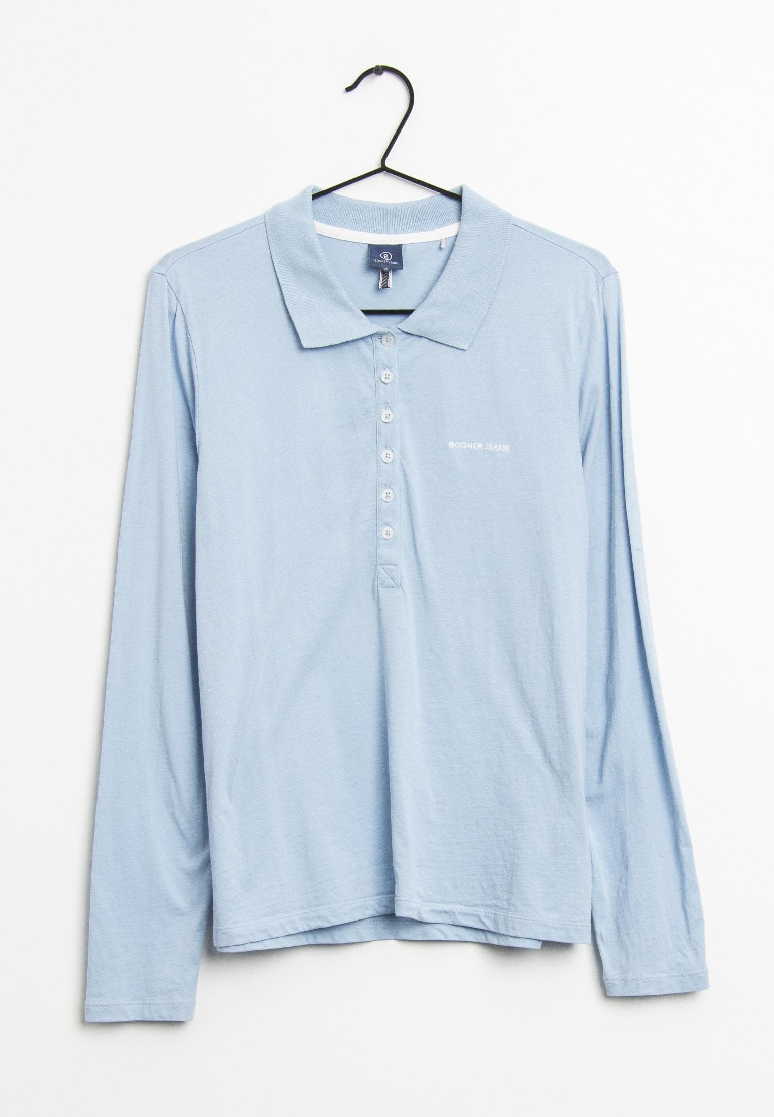 Bogner Jeans Langarmshirt Blau Gr.M