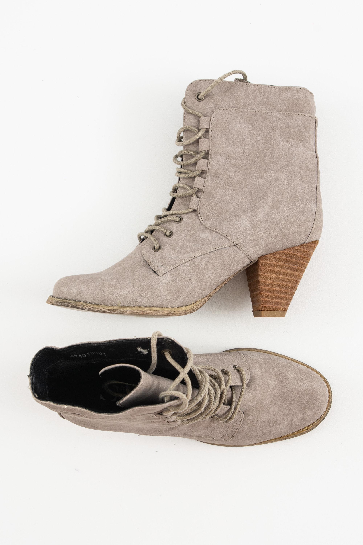 Akira Stiefel / Stiefelette / Boots Grau Gr.37
