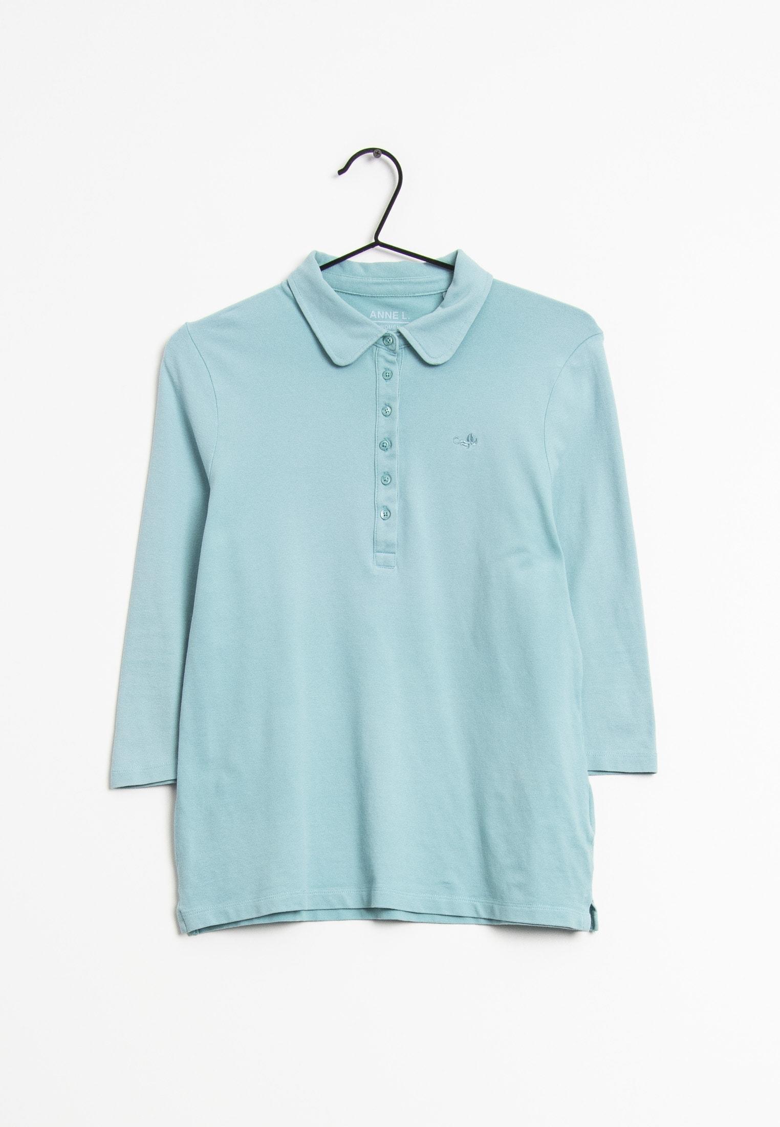 ANNE FONTAINE Langarmshirt Blau Gr.S