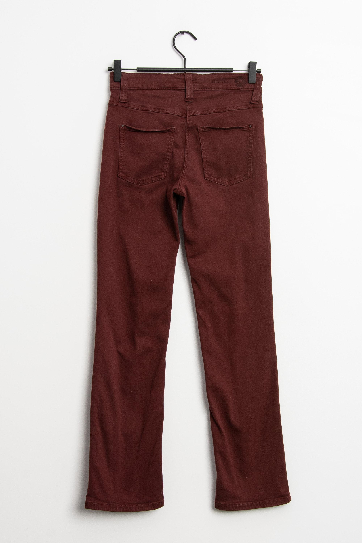 MAC Jeans Stoffhose Rot Gr.W32 L30
