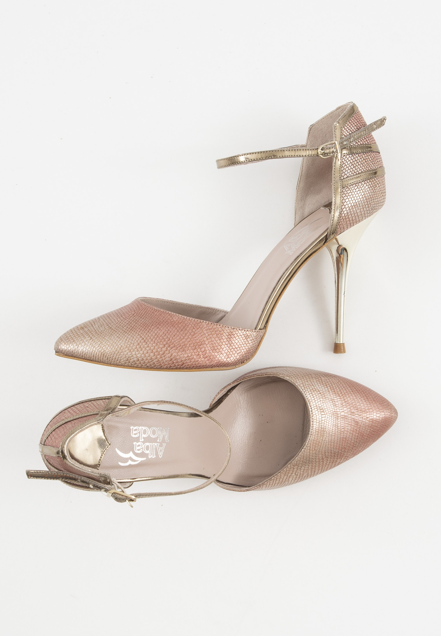 Alba Moda Pumps Pink Gr.40