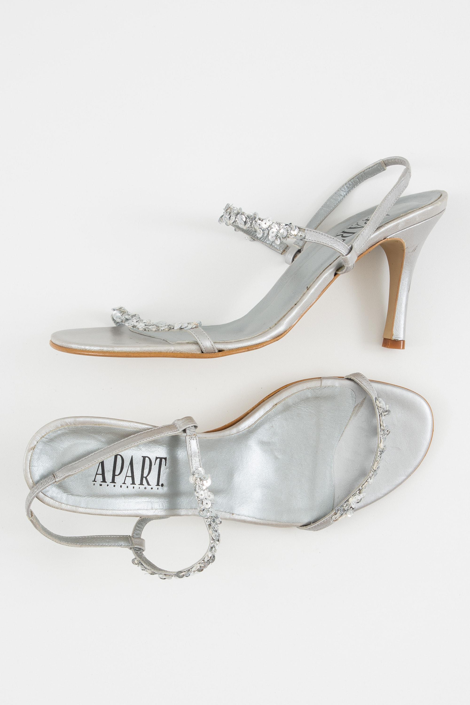 Apart Sandale Grau Gr.42