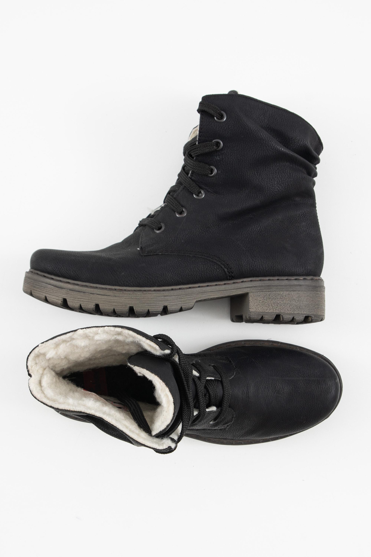 Rieker Stiefel / Stiefelette / Boots Schwarz Gr.39