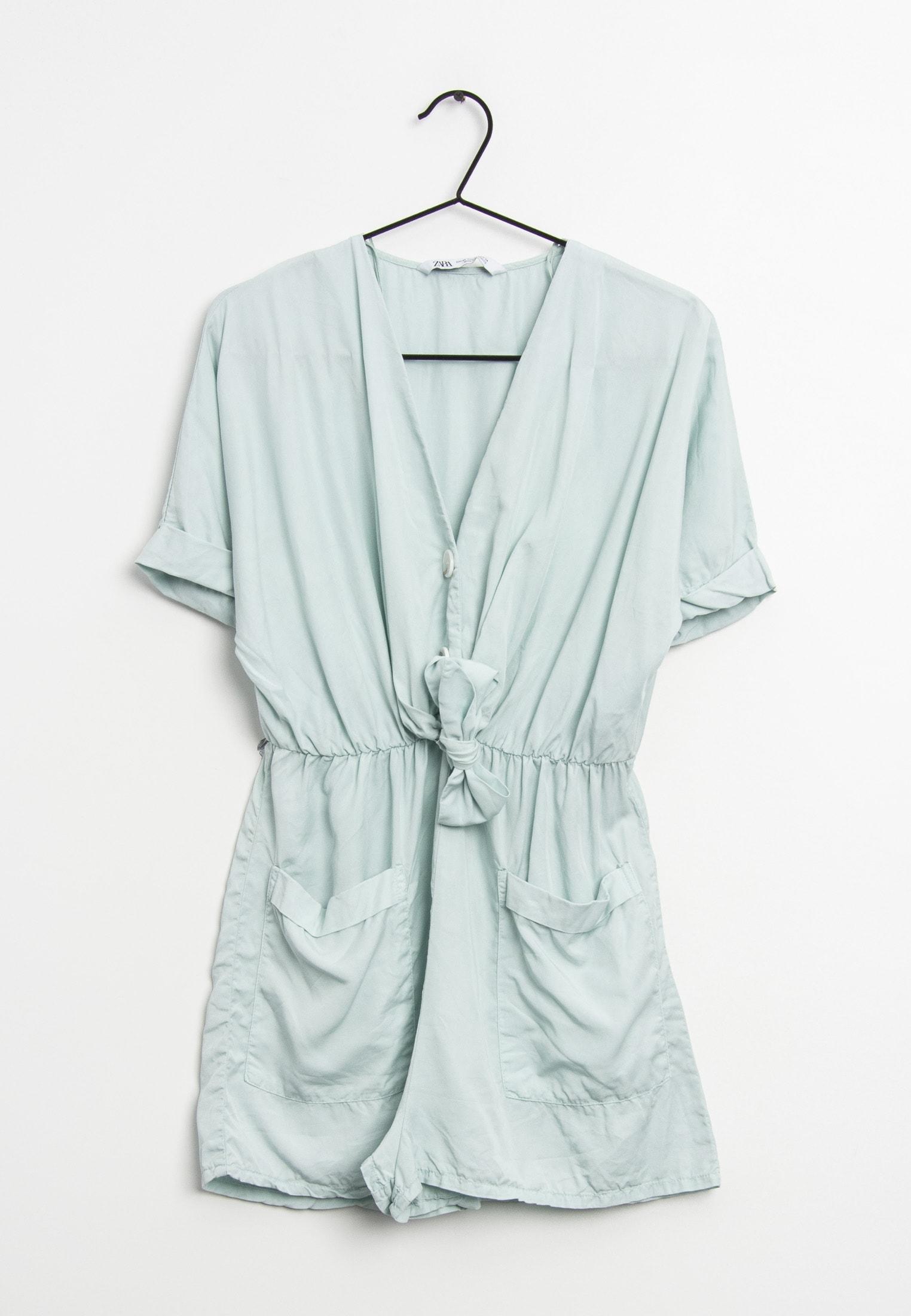 Zara Jumpsuit / Overall Blau Gr.XS