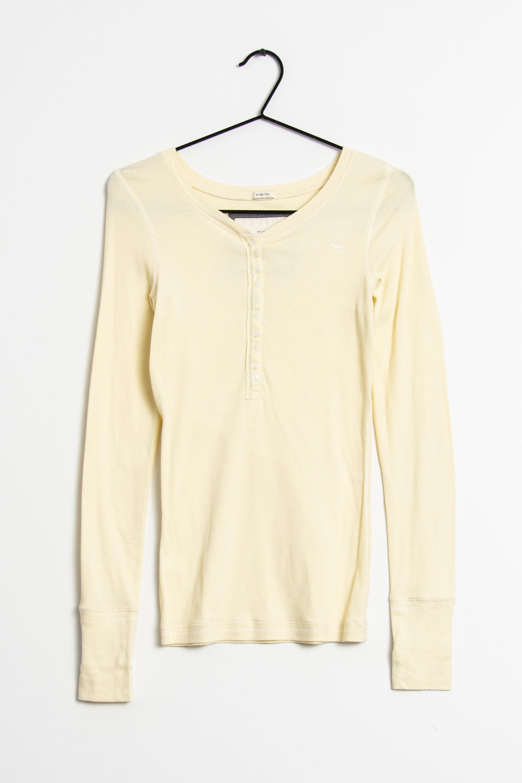 Abercrombie & Fitch Langarmshirt Gelb Gr.L