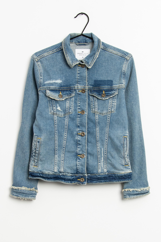 Cross Jeans Leichte Jacke / Fleecejacke Blau Gr.M