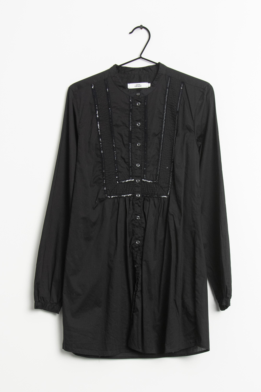 0039 Italy Kleid Schwarz Gr.S