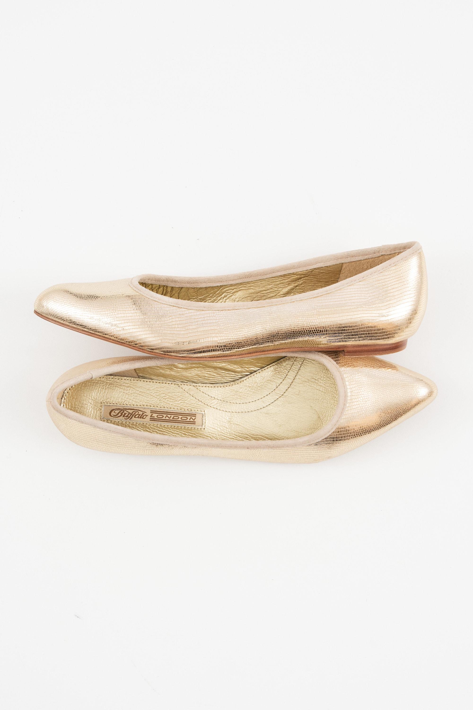 Buffalo Halbschuh / Ballerina Beige Gr.38