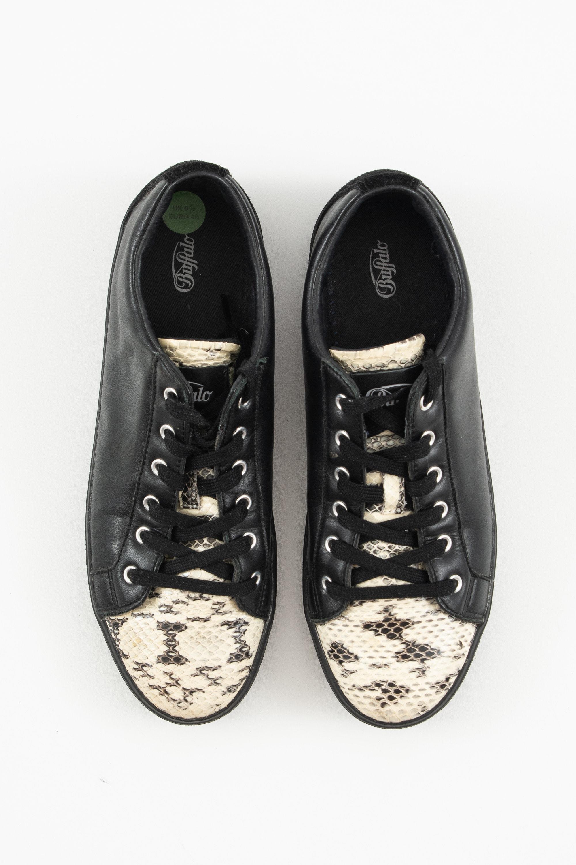 Buffalo Sneakers Schwarz Gr.40