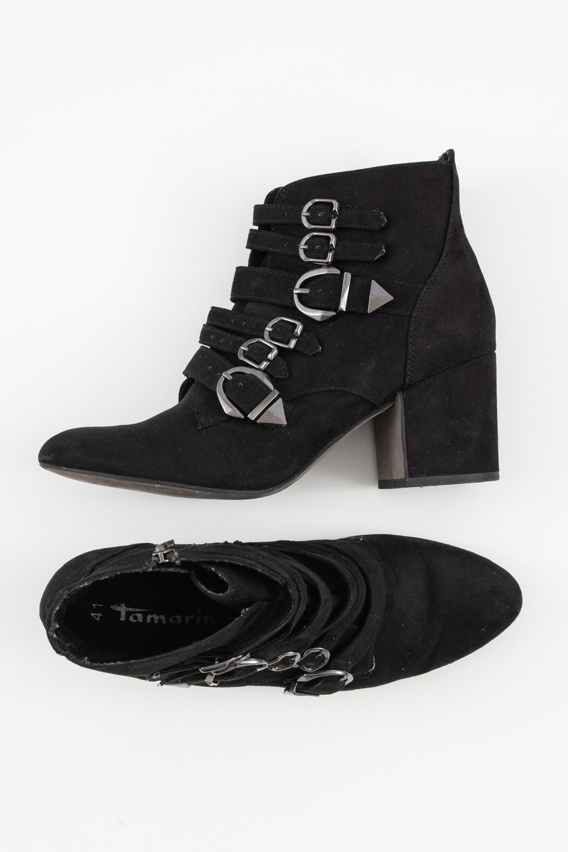 Tamaris Stiefel / Stiefelette / Boots Schwarz Gr.41