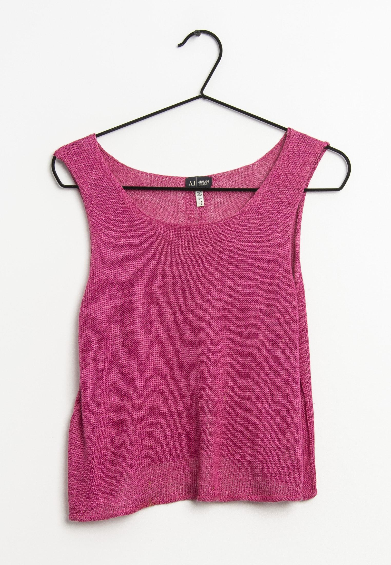 Armani Jeans Weste Pink Gr.42