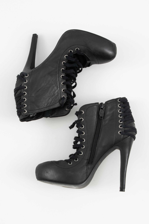 Ash Stiefel / Stiefelette / Boots Schwarz Gr.36