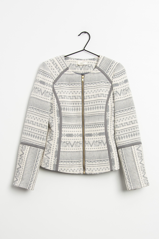 H&M Leichte Jacke / Fleecejacke Mehrfarbig Gr.36