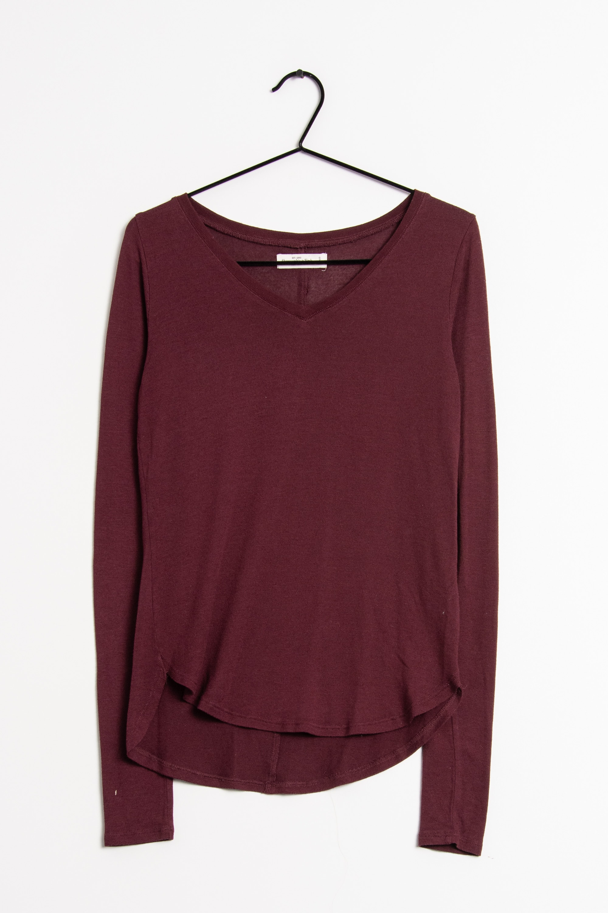 Abercrombie & Fitch Strickpullover Lila Gr.S