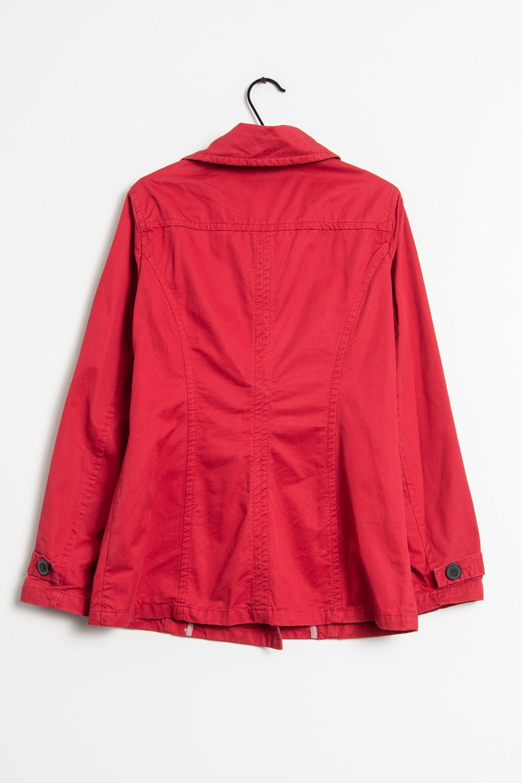 H&M Mantel Rot Gr.42