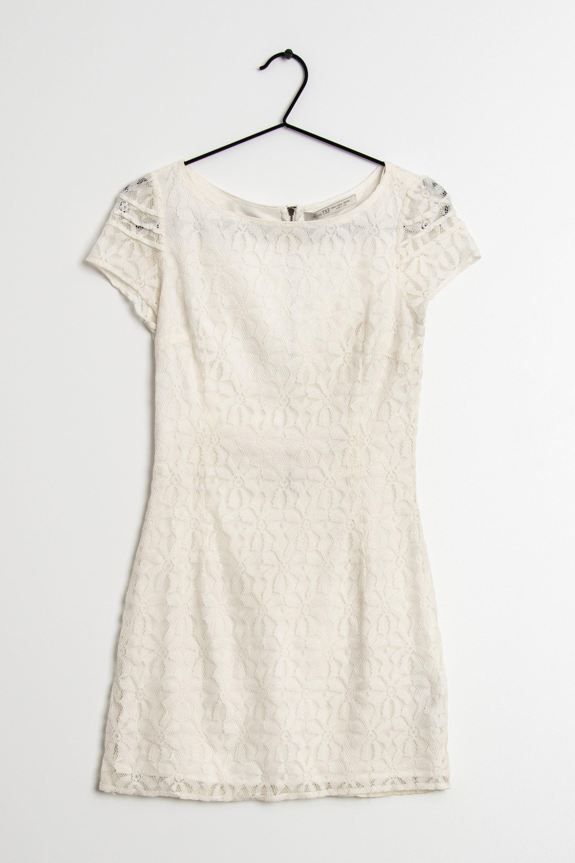 Zara Kleid Weiß Gr.M