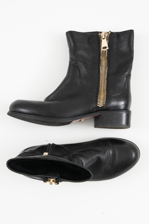 Belmondo Stiefel / Stiefelette / Boots Schwarz Gr.39