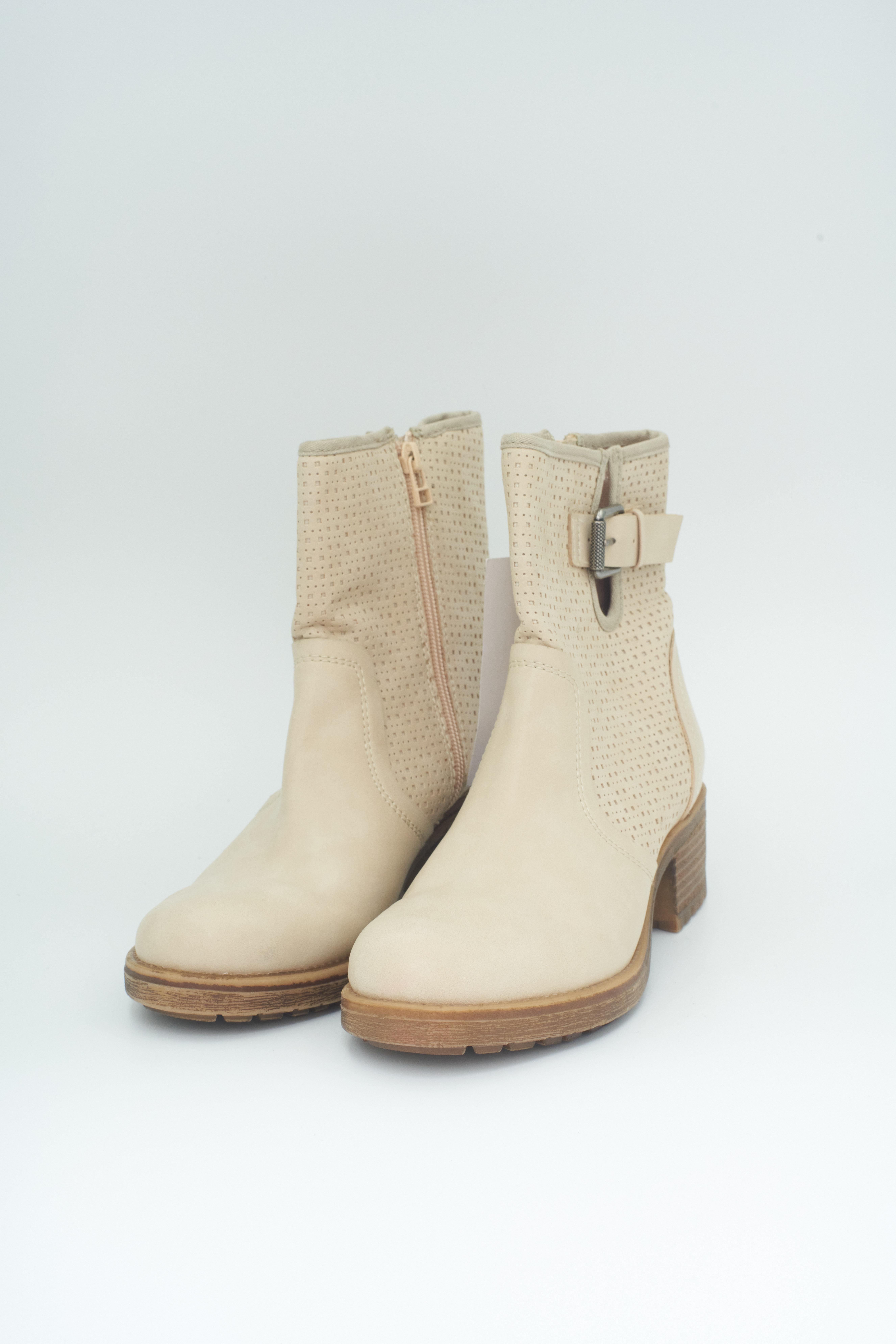 Esprit Stiefel / Stiefelette / Boots Beige Gr.39