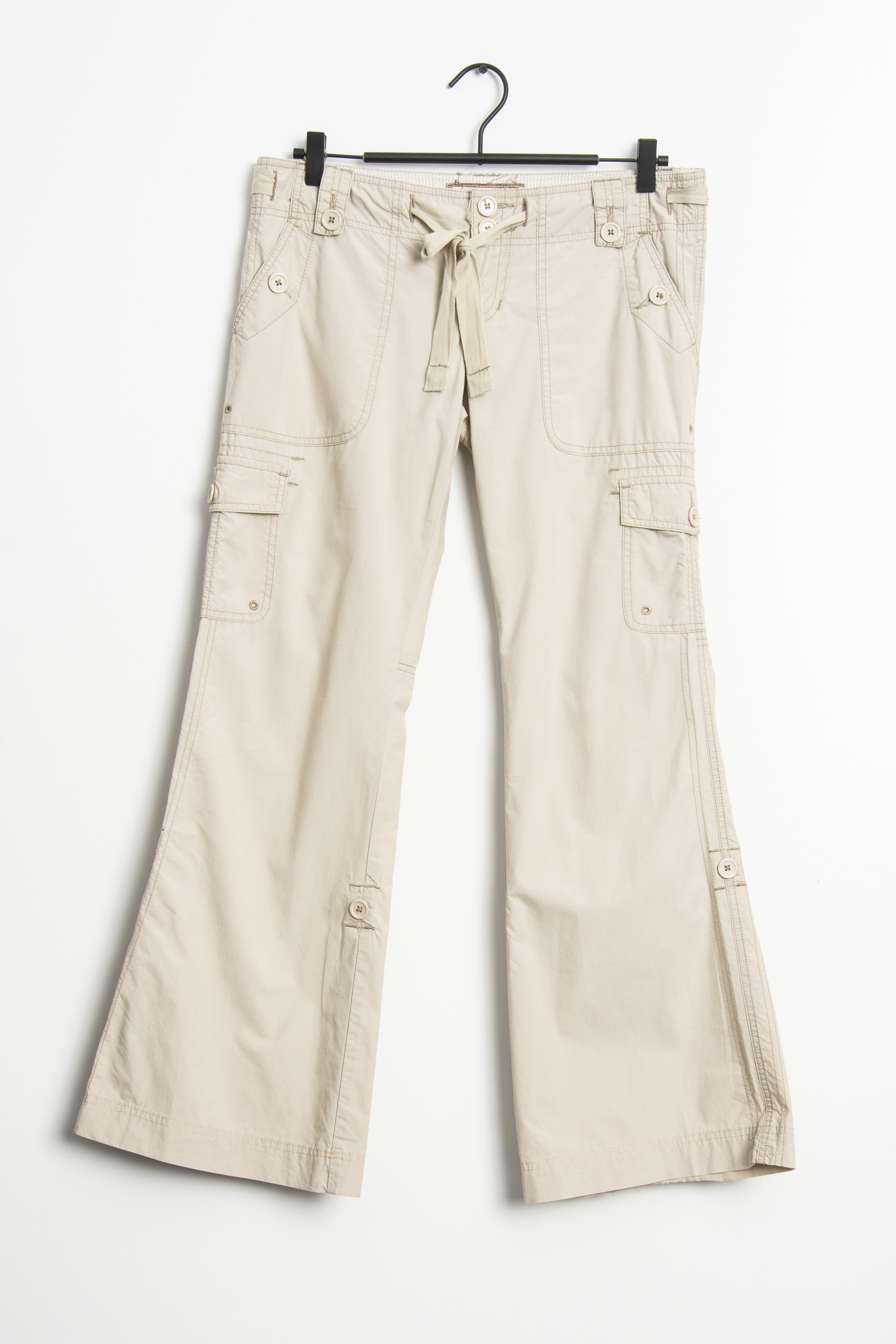 Abercrombie & Fitch Stoffhose Beige Gr.M