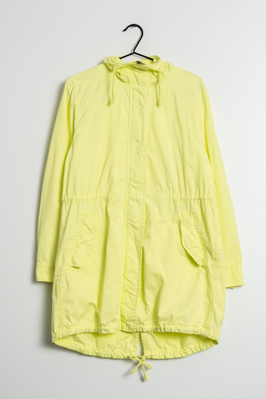 Benetton Leichte Jacke / Fleecejacke Gelb Gr.46