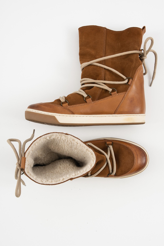 post xChange Stiefel / Stiefelette / Boots Braun Gr.38