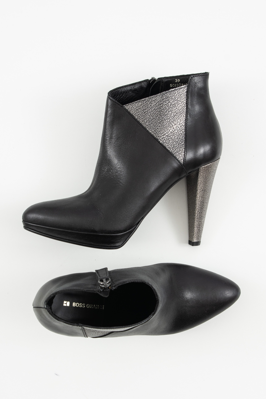 BOSS Stiefel / Stiefelette / Boots Schwarz Gr.39