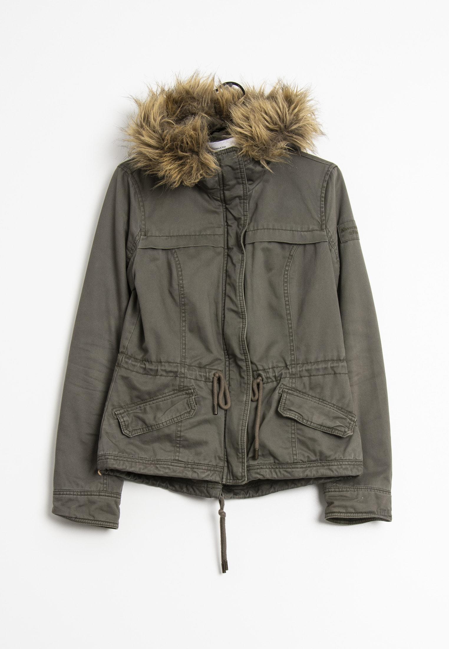 Abercrombie & Fitch Winterjacke Grün Gr.M