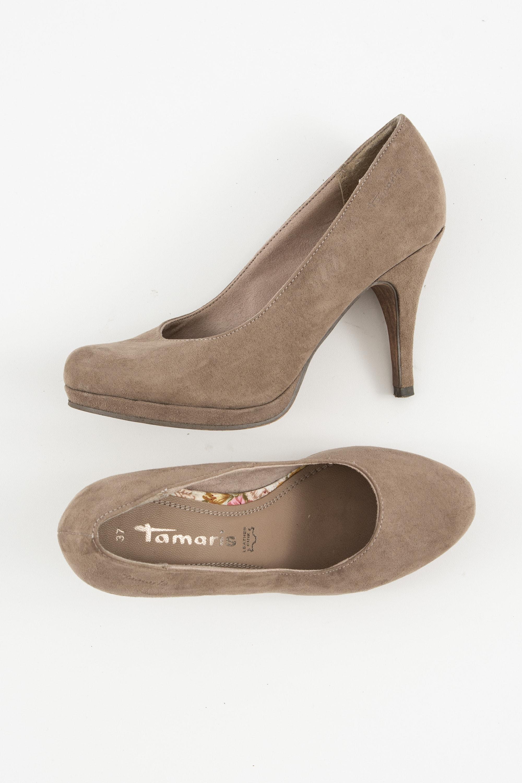 Tamaris Halbschuh / Ballerina Braun Gr.37