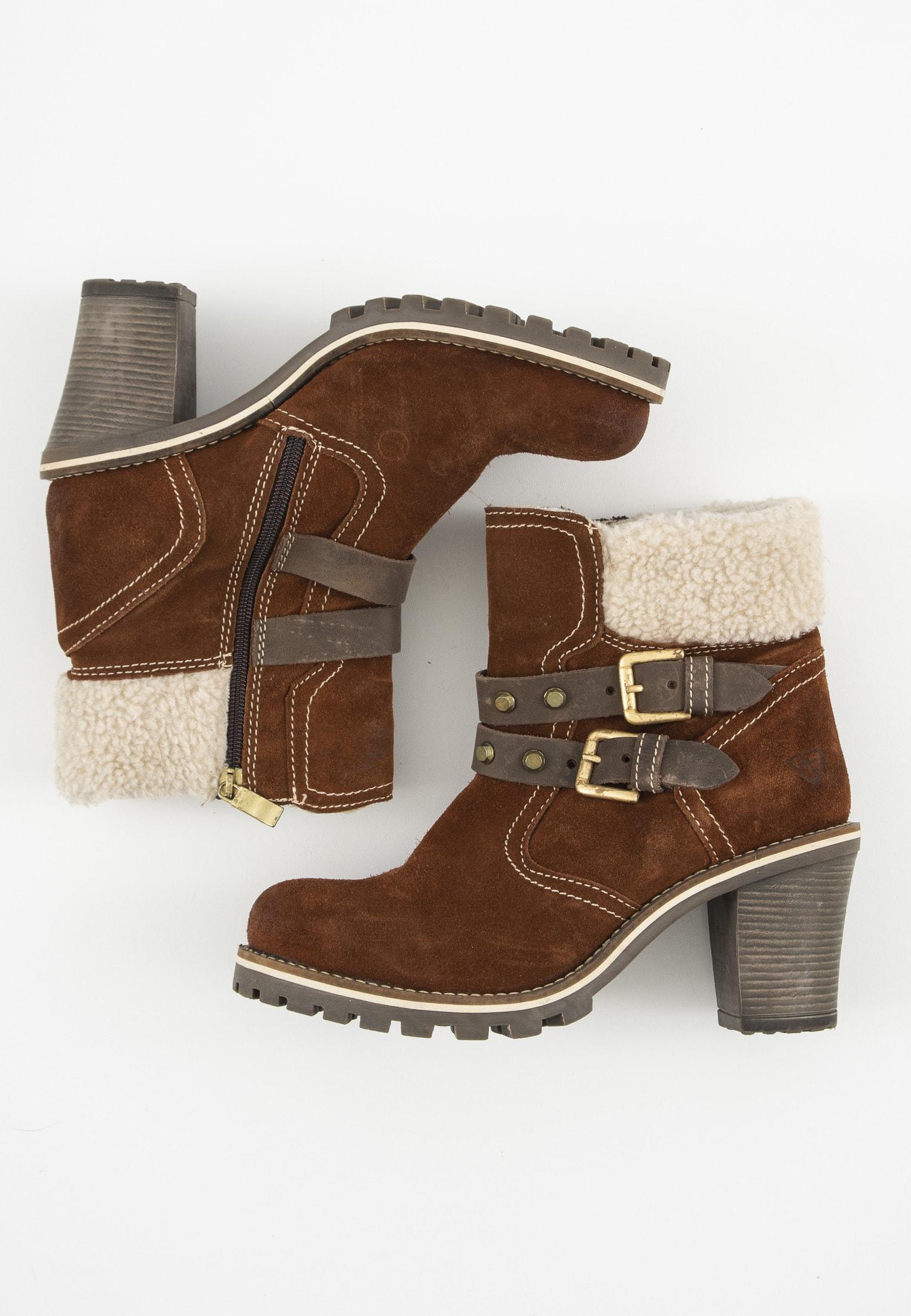 Tamaris Stiefel / Stiefelette / Boots Braun Gr.38