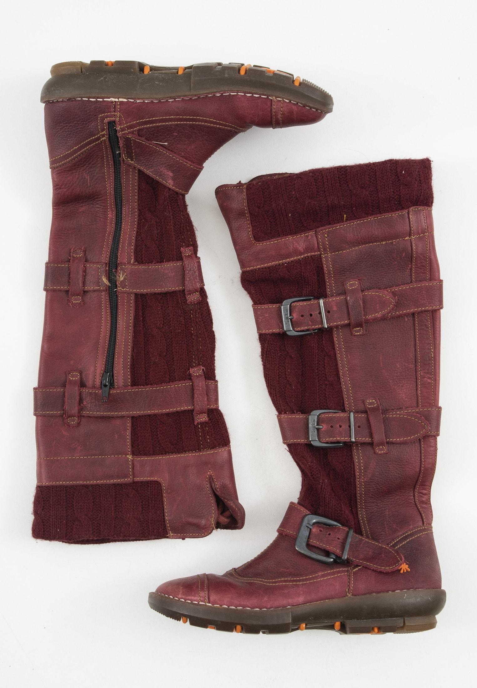 Art Stiefel / Stiefelette / Boots Rot Gr.37