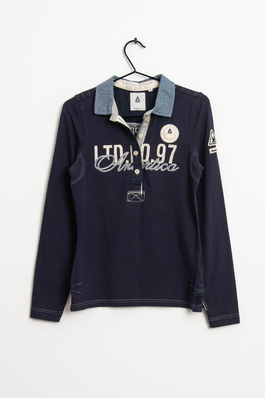 Gaastra Langarmshirt Blau Gr.S
