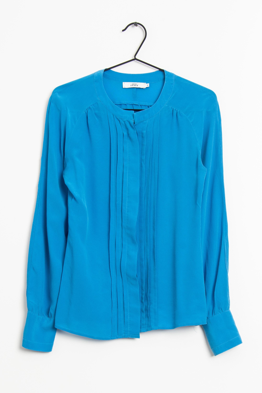 0039 Italy Bluse Blau Gr.XS