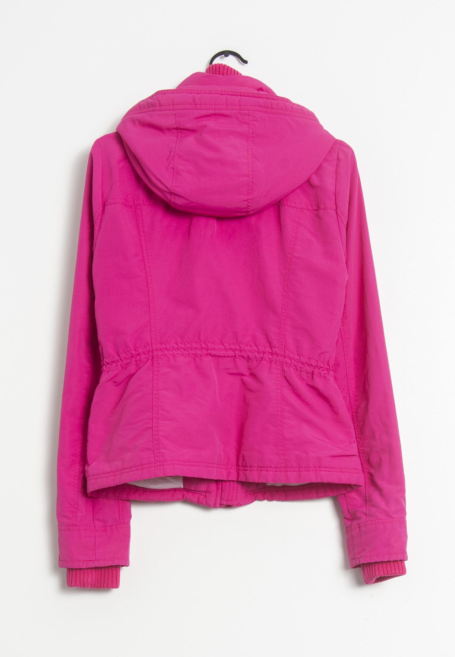 Abercrombie & Fitch Winterjacke Pink Gr.S