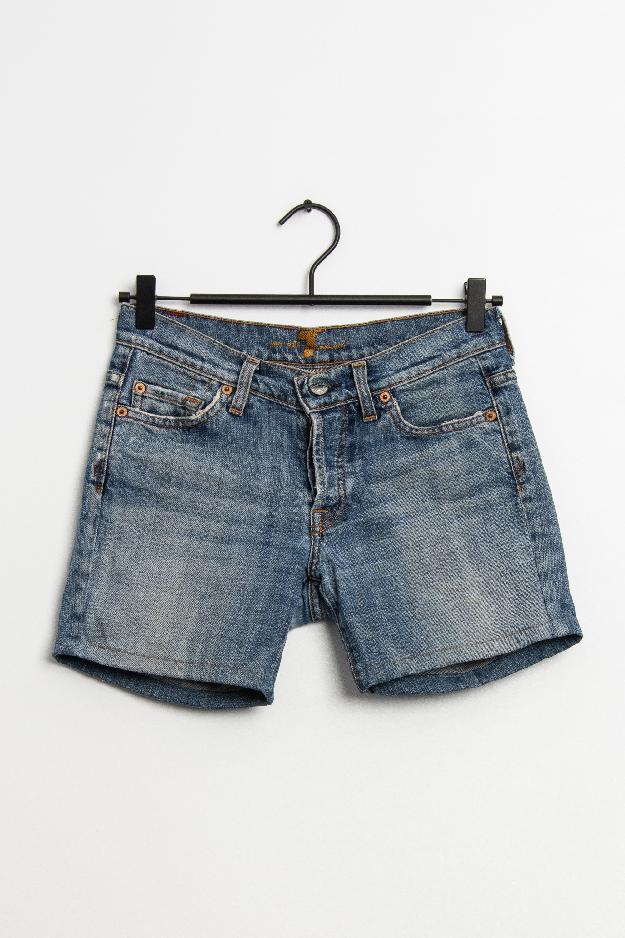 7 for all mankind Shorts Blau Gr.XS