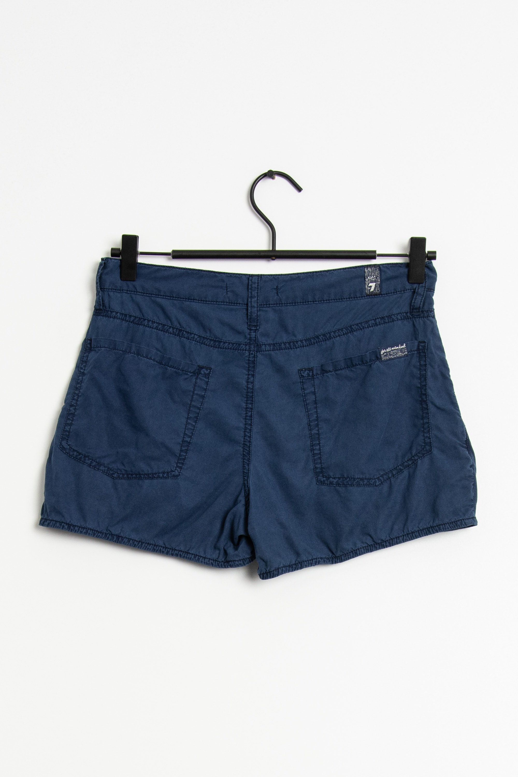 7 FOR ALL MANKIND Shorts Blau Gr.XXS