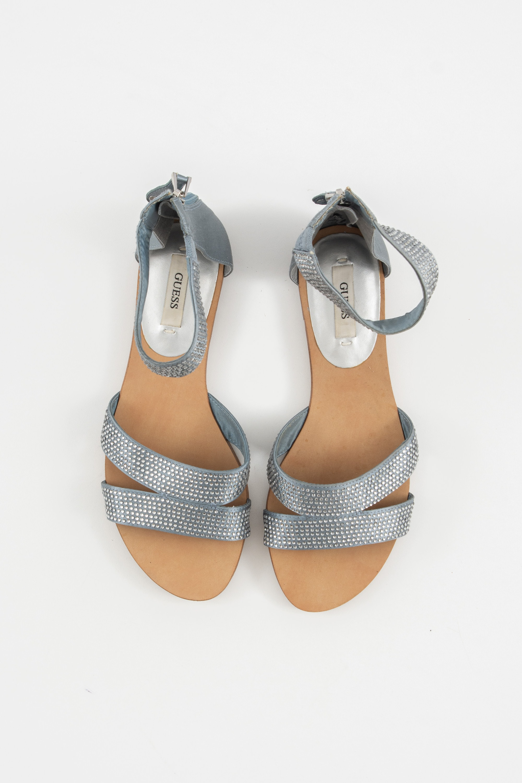 Guess Sandale Blau Gr.37