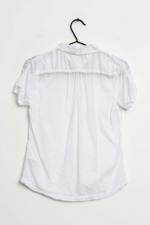 Hilfiger Denim Bluse Weiß Gr.XS