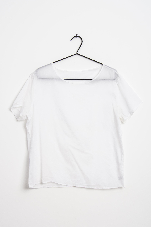 American Apparel T-Shirt Weiß Gr.L