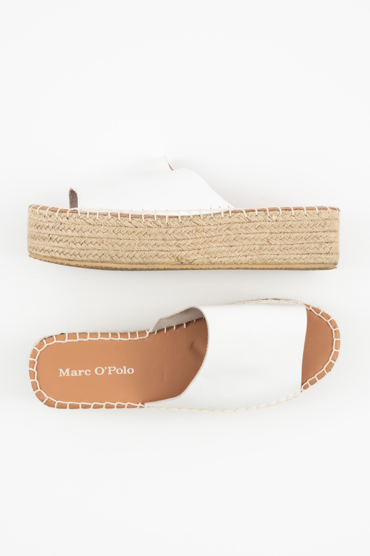 Marc O'Polo Sandale Weiß Gr.41
