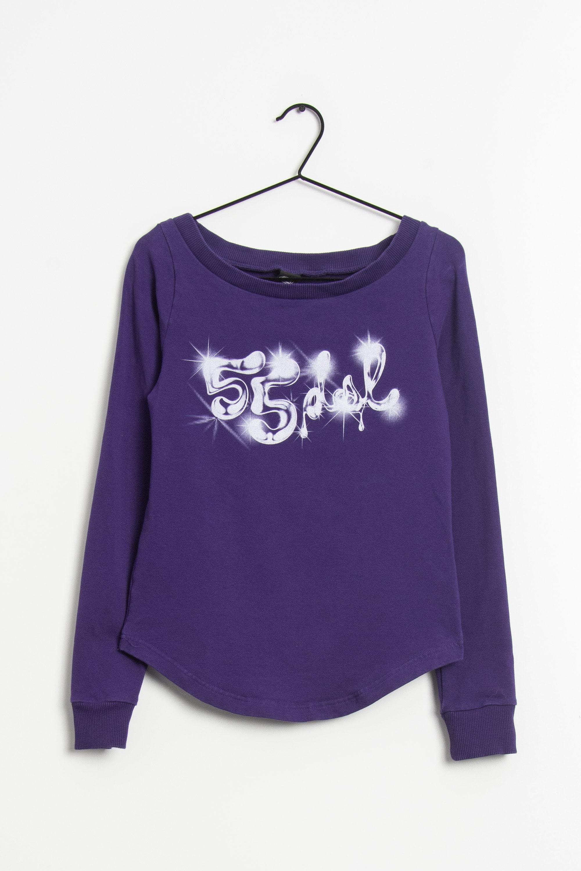 55 DSL Sweat / Fleece Lila Gr.M