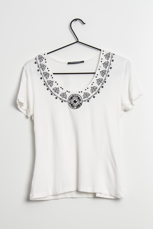 Betty Barclay T-Shirt Weiß Gr.38