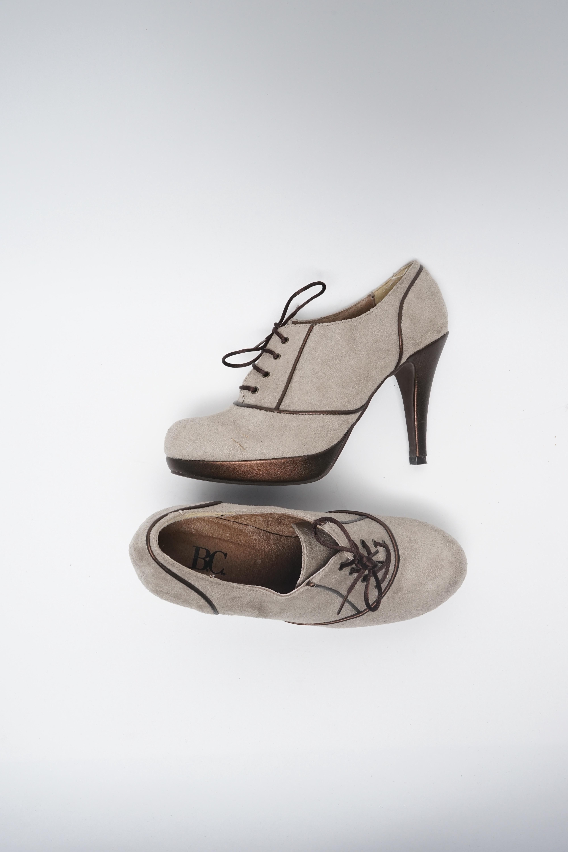 B.C. Best Connections Stiefel / Stiefelette / Boots Grau Gr.38