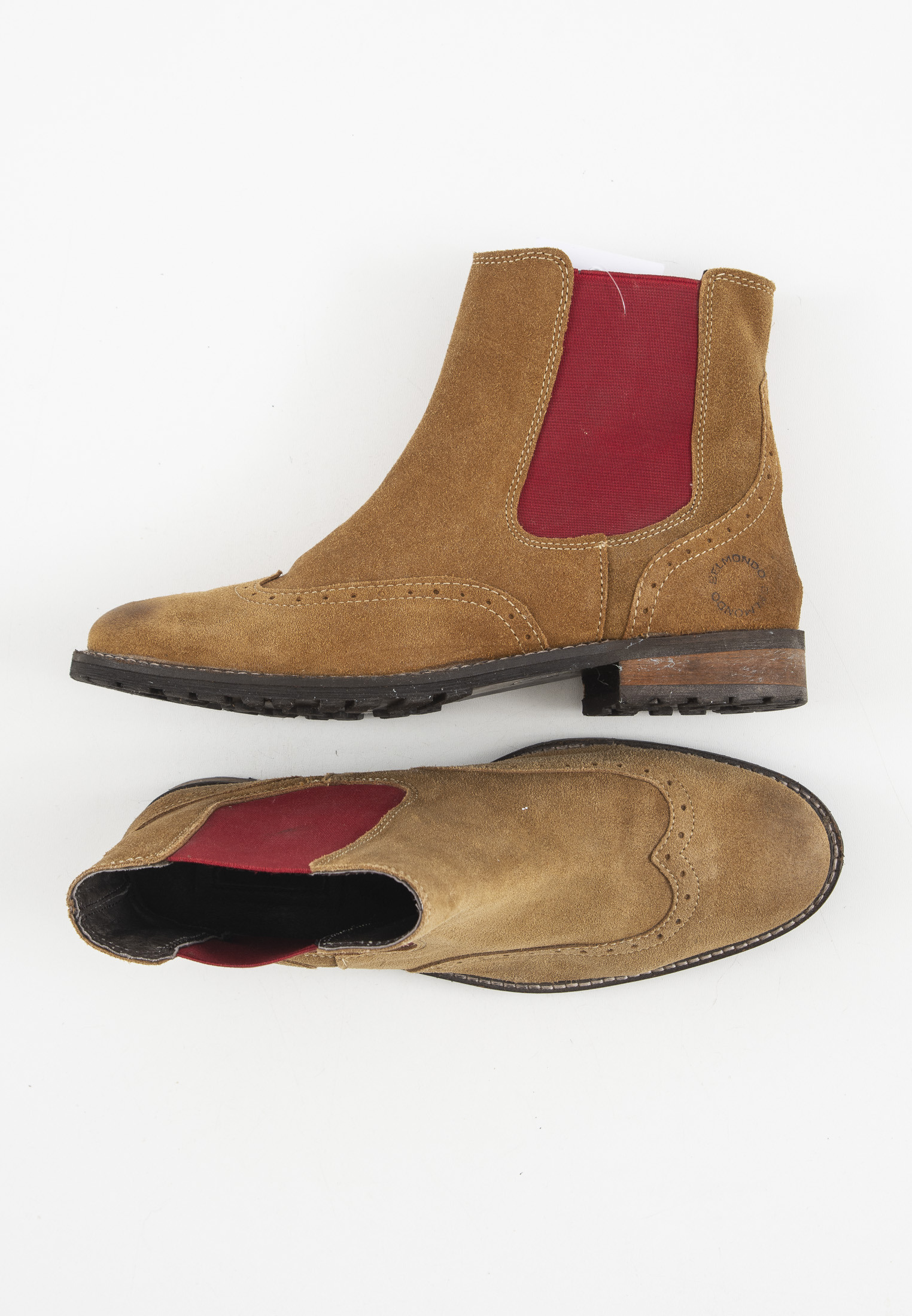 Belmondo Stiefel / Stiefelette / Boots Braun Gr.39