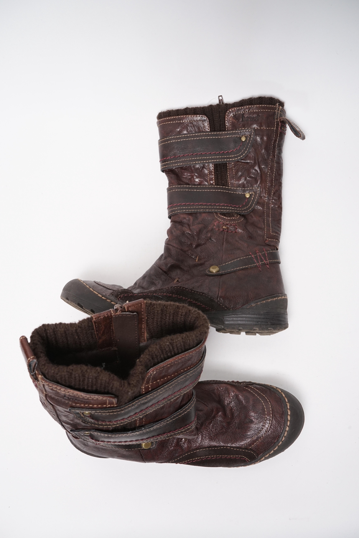 Bama Stiefel / Stiefelette / Boots Braun Gr.37