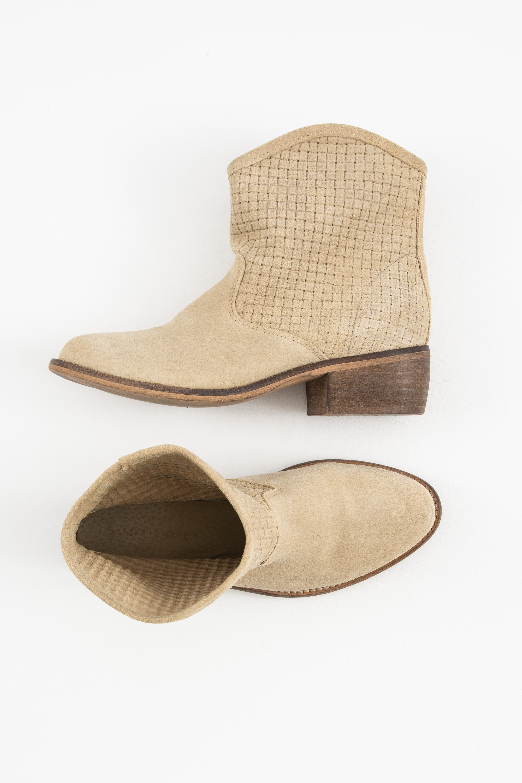 mint&berry Stiefel / Stiefelette / Boots Beige Gr.36