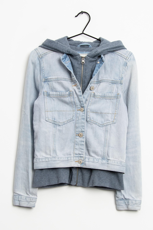 Abercrombie & Fitch Leichte Jacke / Fleecejacke Blau Gr.S