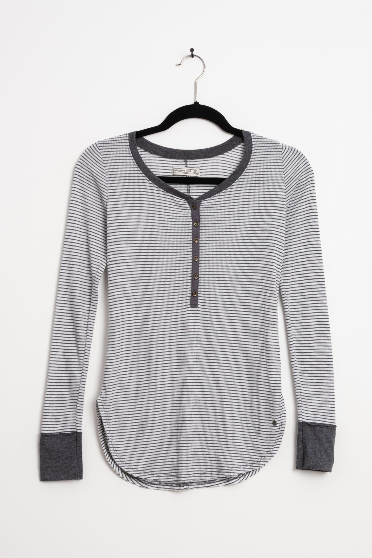 Abercrombie & Fitch Langarmshirt Grau Gr.XS