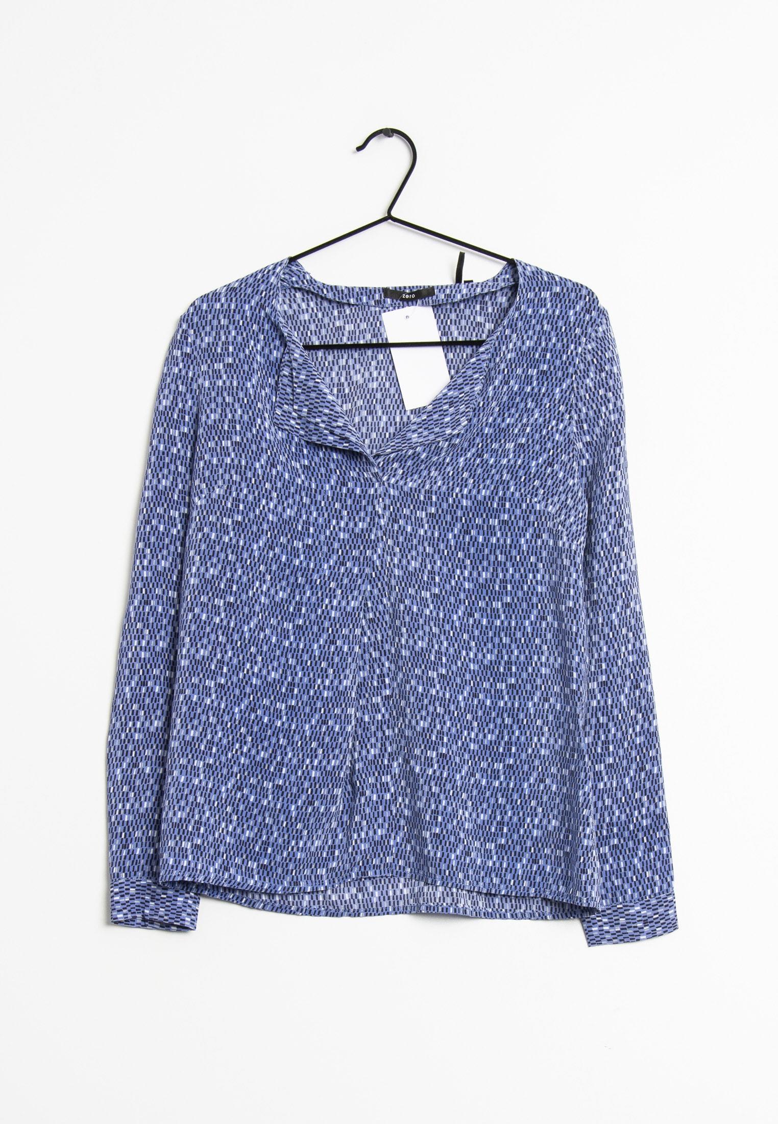Zero Bluse Blau Gr.36