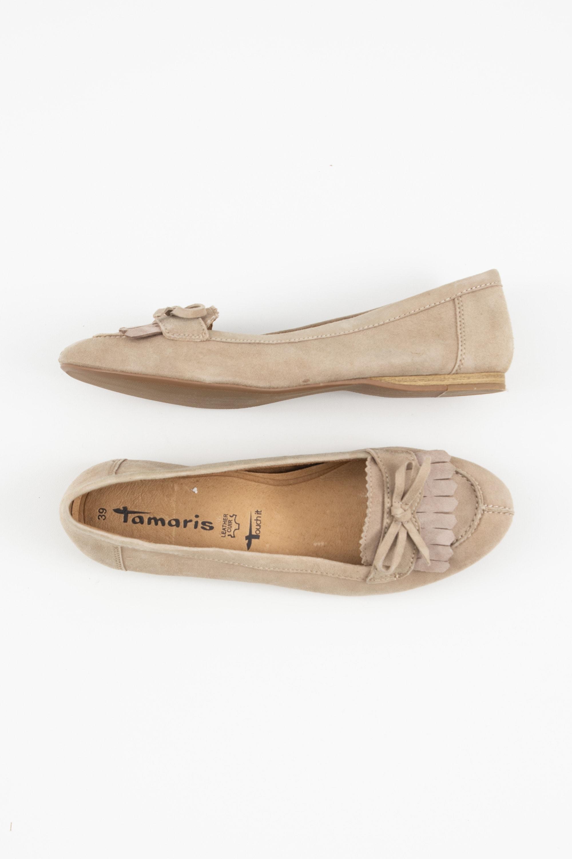 Tamaris Halbschuh / Ballerina Beige Gr.39